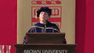 2014 Brown University Opening Convocation