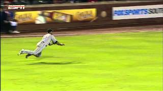 2012/04/08 Rios' outstanding catch
