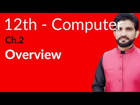 ICS Computer Part 2 - Overview About Basic Concepts & Terminology Of Databases - 2nd Year Computer
