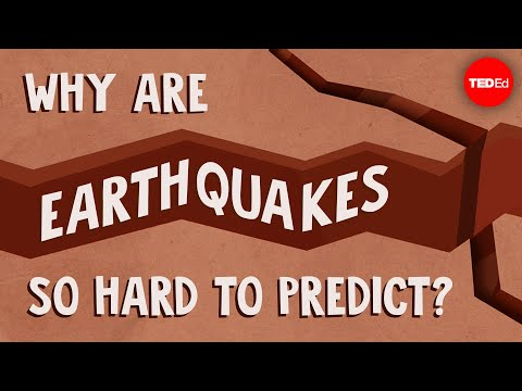 Video image: Why are earthquakes so hard to predict? - Jean-Baptiste P. Koehl