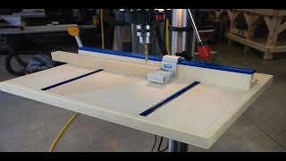 How To Build A Drill Press Table Pt 2