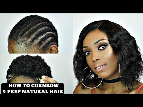 how-to-cornrow-and-prepare-natural-hair-for-wig-|-wow-ebony