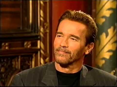 Arnold Schwarzenegger interview 1999 part 1 of 4