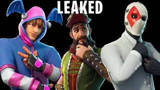 FORTNITE v5.40 UPDATE LEAKED SKINS, GLIDERS, BACKBLINGS, PICKAXES, EMOTES