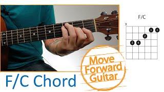 Guitar Chords for Begiฑners - F/C