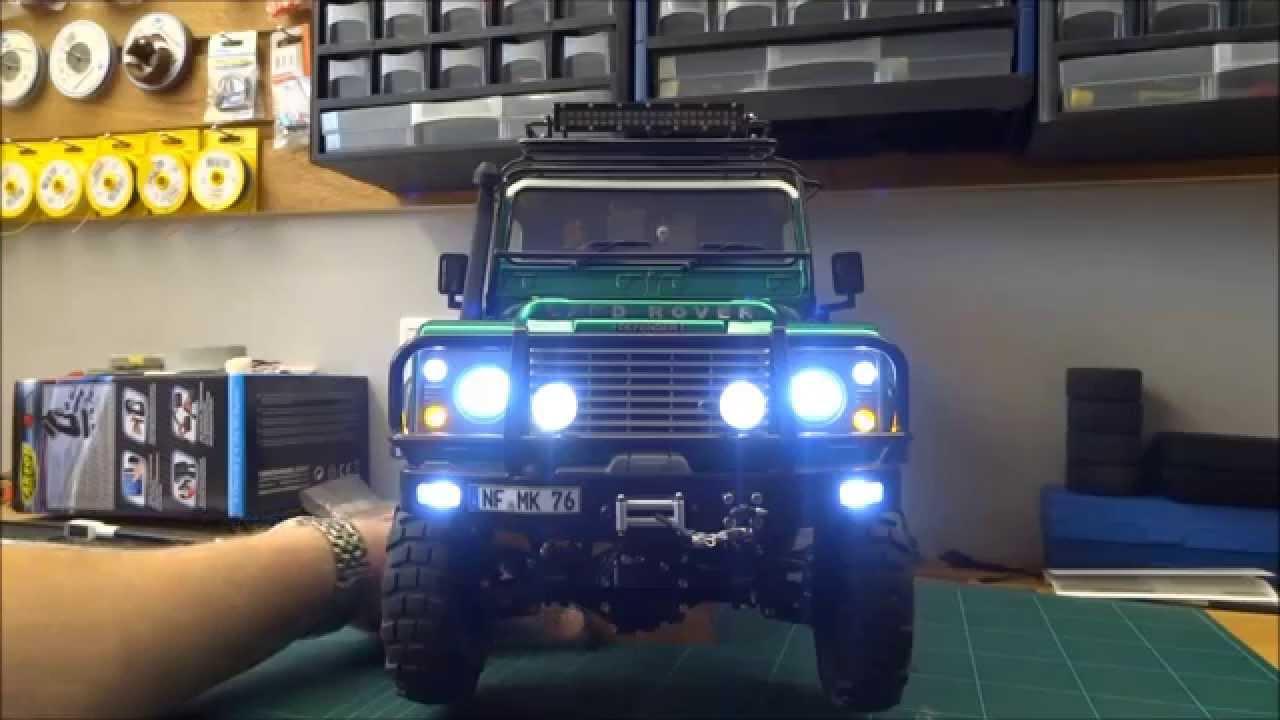 land rover defender light wiring [ 1280 x 720 Pixel ]