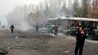 Kayseri'de Patlama: 13 Asker Şehit, 48 Asker Yaralı !