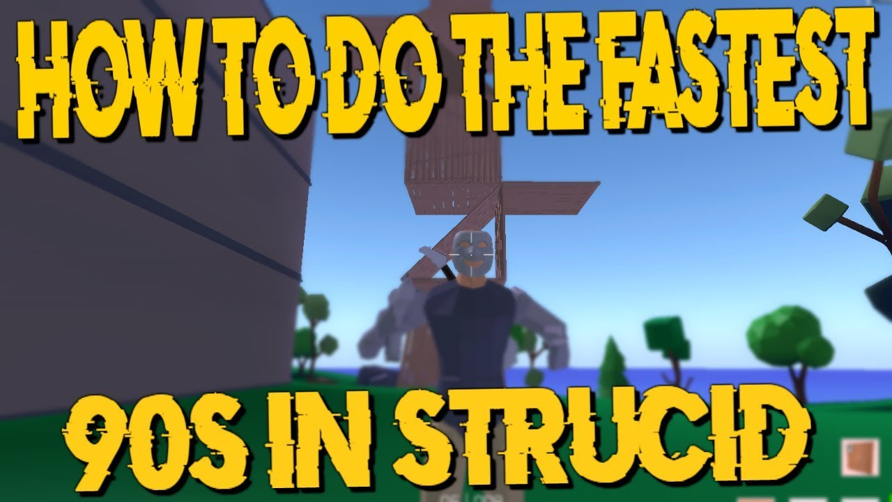 How To Do The Fastest 90s In Strucid... - YouTube