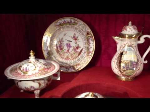 Antique Meissen Porcelain Collections