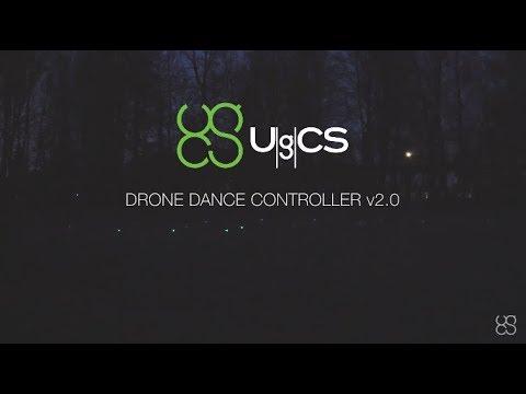 UgCS DDC - Create Beautiful Drone Shows - 20 Drone Swarm Show