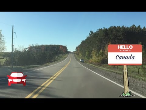 World of Canada: Countryside Driving (Collingwood to Toronto)