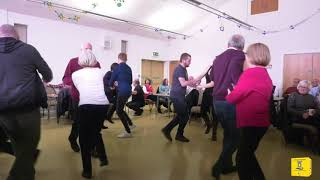 The Abergele District action Groupe Barn Dance.Dewi Sant