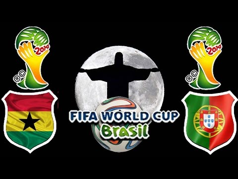 World Cup Brasil 2014 - Gruppenphase - Ghana vs. Portugal