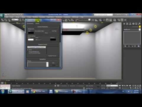 Tutorial How To Make Covelights In 3ds Max With Mental Ray Rendering Part 2 Youtube