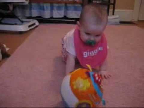 Vtech Move And Crawl Ball Review Great Toy Baby Agrees