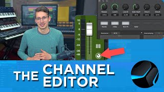 The Channel Editor in #StudioOne