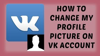 How To Change My Profile Picture On VK Account | Delete Profile Picture On VK Account - In Hindi