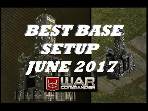 Best Base Setup June 2018 . War Commander