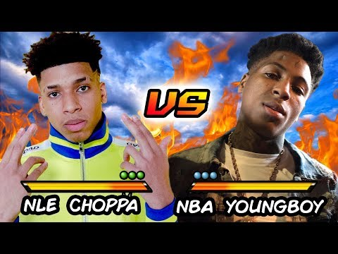 NLE CHOPPA VS NBA YOUNGBOY  Before They Were Famous