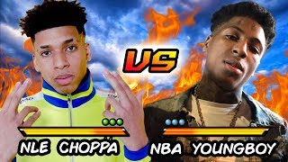 NLE CHOPPA VS. NBA YOUNGBOY   Before They Were Famous