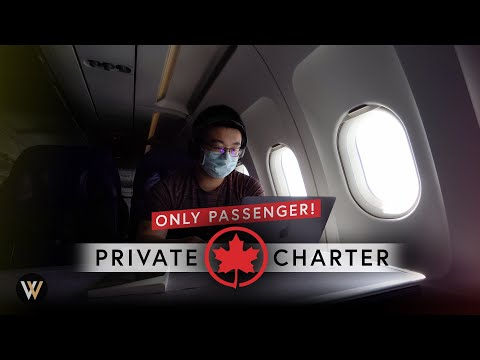 Alone on Air Canada's Private Charter