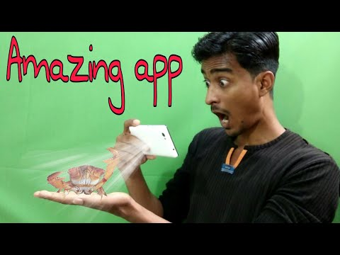 Android Best Camera Fun App Ever | Amazing Crabs 3d Effect On Your Floor | Holographic Effect |itech