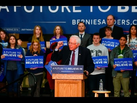 Bernie Sanders speaks in Vancouver (full speech)