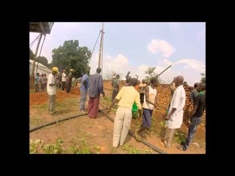CPR  water project  to the village of Musumba ,congo