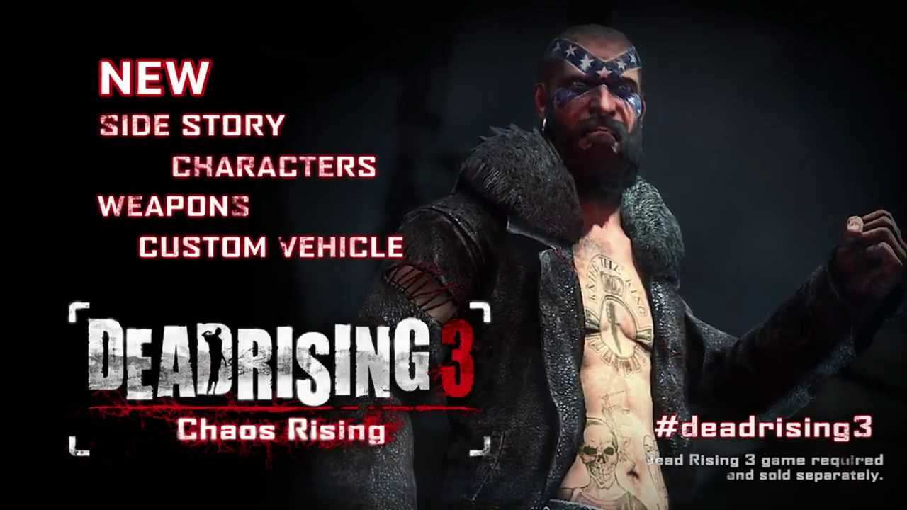 Dead Rising 3 : Chaos Rising (Bande-annonce du DLC) - YouTube