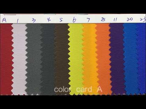 420d high density polyurethane coated nylon fabric