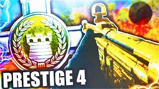 COD WWII: Entering 4TH Prestige: What Happens? (How To Prestige FAST)