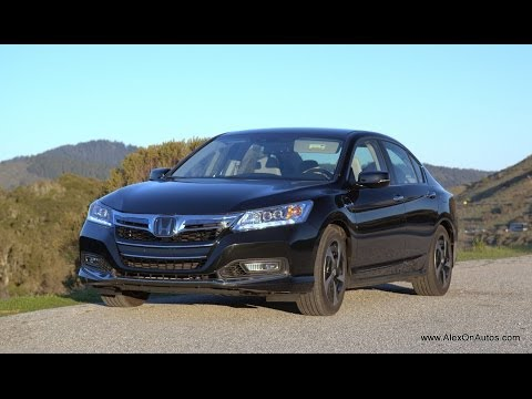 2014 Honda Accord Plug In Hybrid Review and Road Test