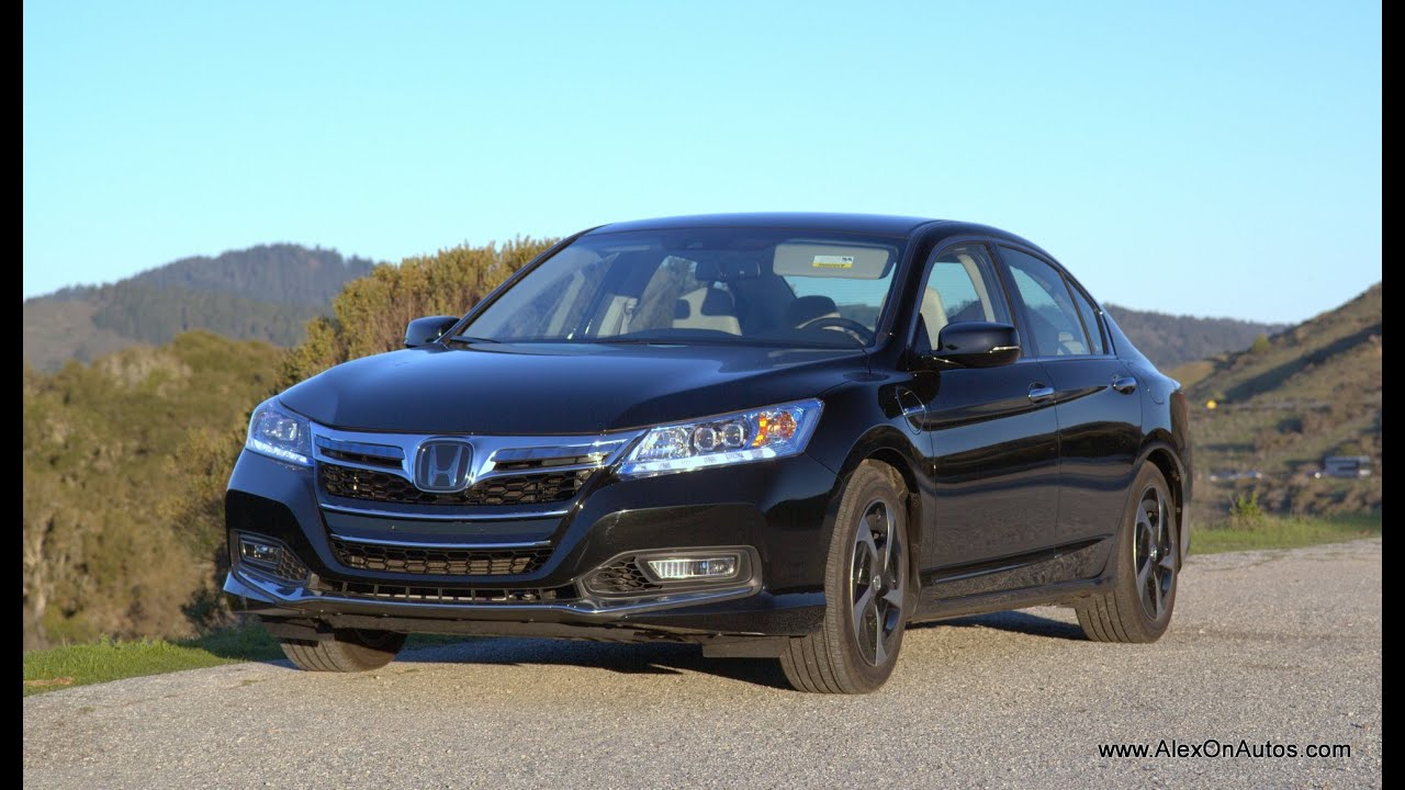 2014 Honda Accord Plug In Hybrid Review And Road Test   YouTube