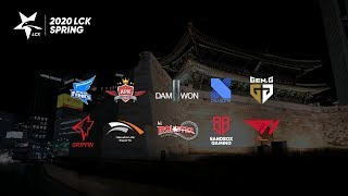 LCK live stream on Youtube.com