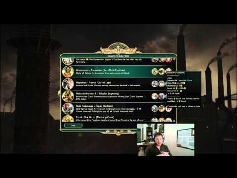 Civilization 5 - Filthy's Civilization Tier Guide 2.0