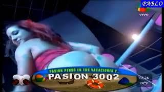 Gambar cover Evelyn Gadea y su hermosa cola en pasion de sabado.
