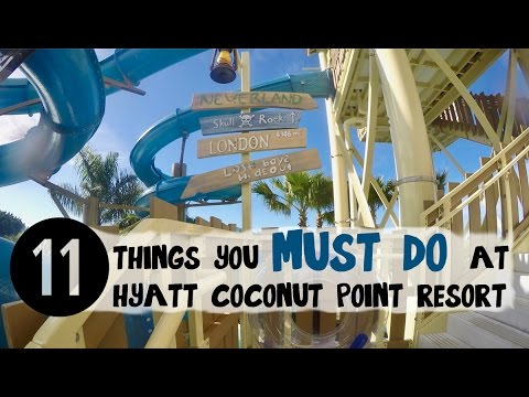 Must Do at Hyatt Coconut Point Resort l Family Travel