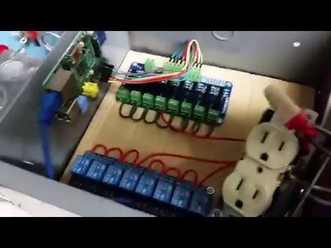 Christmas Lights and Music with Relays and Raspberry Pi