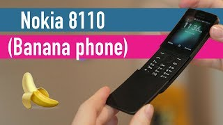 Nokia 8810 4G hands-on - MWC 2018