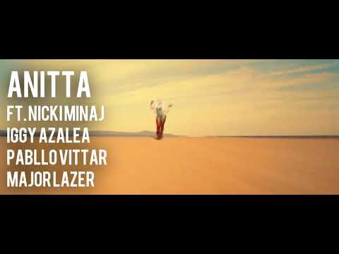 Anitta - Sua Cara (feat. Nicki Minaj, Iggy Azalea, Pabllo Vittar & Major Lazer) (Official)