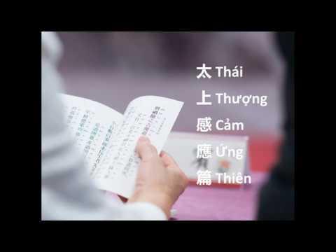 [Sách quý] Thái Thượng Cảm Ứng Thiên – Diễn Đọc Trọn Bộ