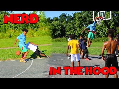 NERD Plays Basketball In The HOOD !!!