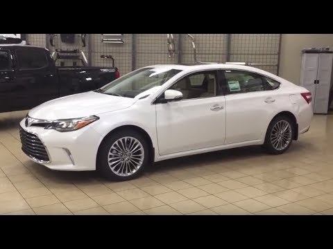 2017 Toyota Avalon Limited Review