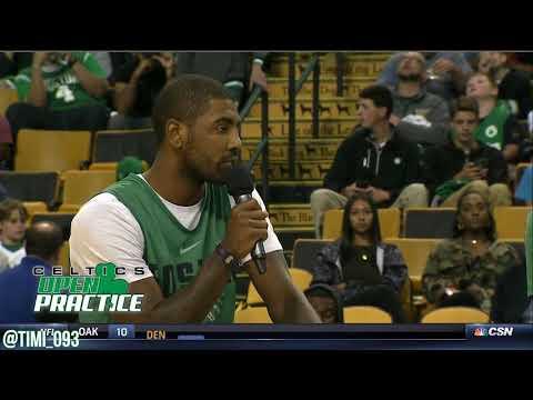 Boston Celtics 2017 Open Practice Highlights: Player Disscusion