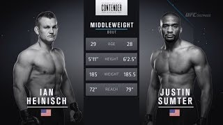 FREE FIGHT | Heinisch Throws Huge Elbows on the Ground | DWTNCS Week 7 Contract Winner - Season 2