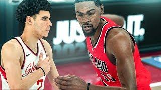NBA 2K18 Athens Gladiators MyLeague Ep. 6   LONZO VS KD!!!