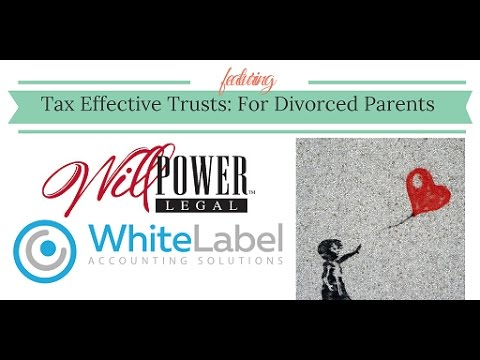 Tax Effective Trusts Part 2: Divorced Parents and Child Maintenance Trust