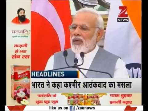 Headline @ 8 PM | India never a better investment destination than today: PM Modi