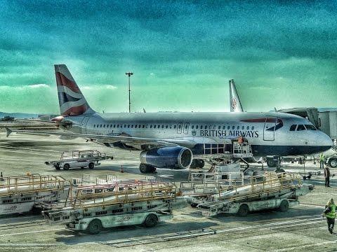 British Airways | Airbus A320 | LHR-MRS-LHR | Euro Traveller