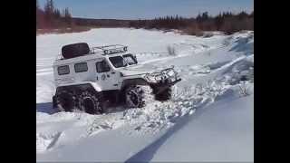 вездеход трэкол реальная проходимость и самодельный уаз вездеход Russian SUV monster